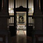 Entrata della chiesa di Milano