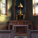 parte interna della chiesa Corpus Domini