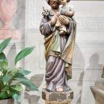 Statua presente nel convento