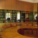 Sala biblioteca del monastero