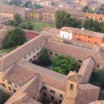 Monastero di Ferrara dall'alto