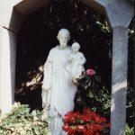 Statua presente nel monastero di Lodi