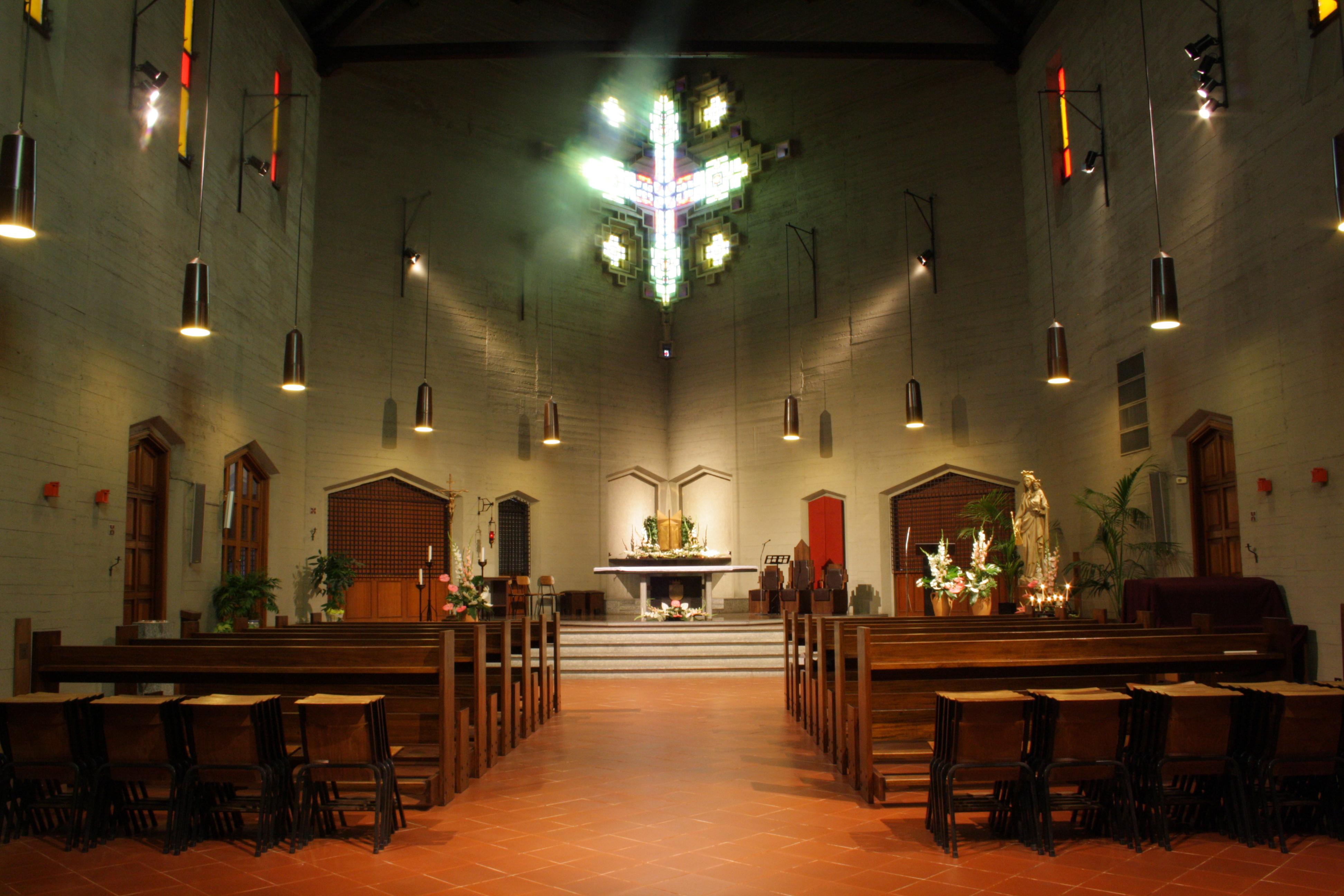 Chiesa visto dall'interno