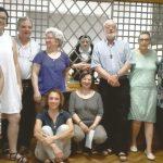 Gruppo persone con Priora