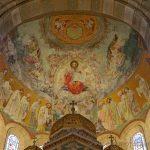 Parte interna basilica corpus domini Milano
