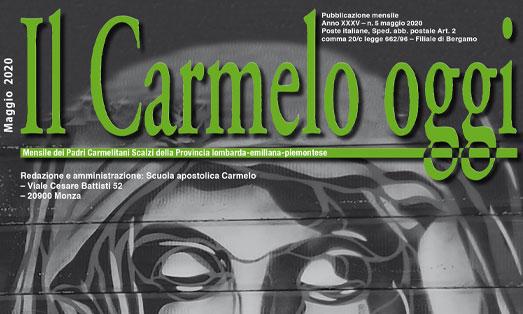 """Copertina del """"Il Carmelo oggi"""""""