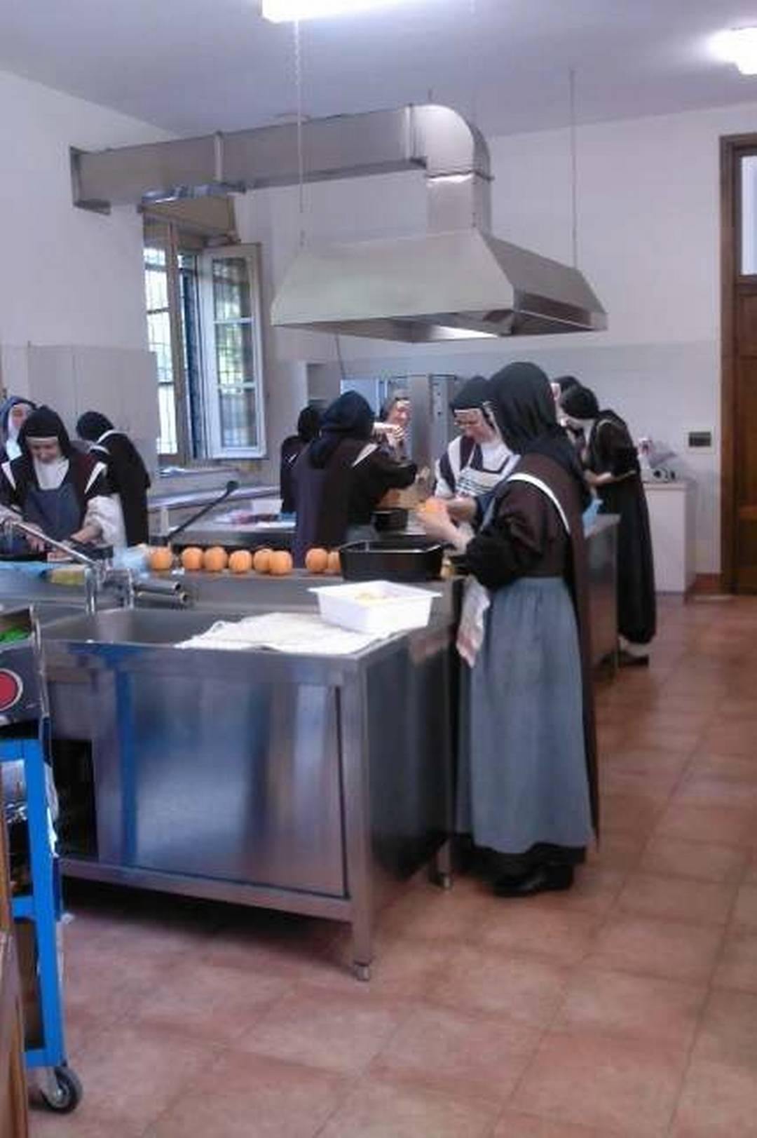 Cucina del monastero a Legnano