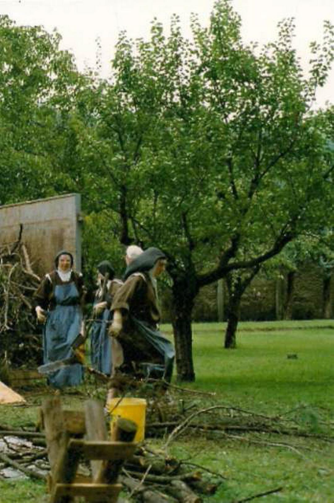 gruppo di Carmelitane presenti a Legnano