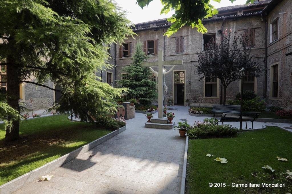 Chiostro interno al Monastero