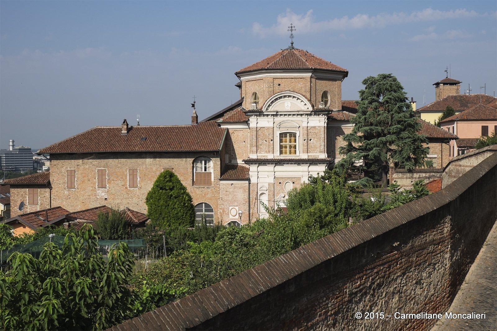 Monaco di Moncalieri dall'esterno