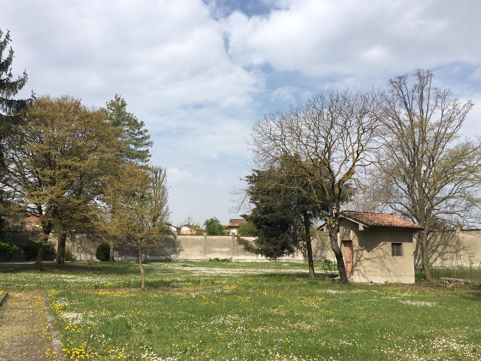 giardino del monastero di Piacenza