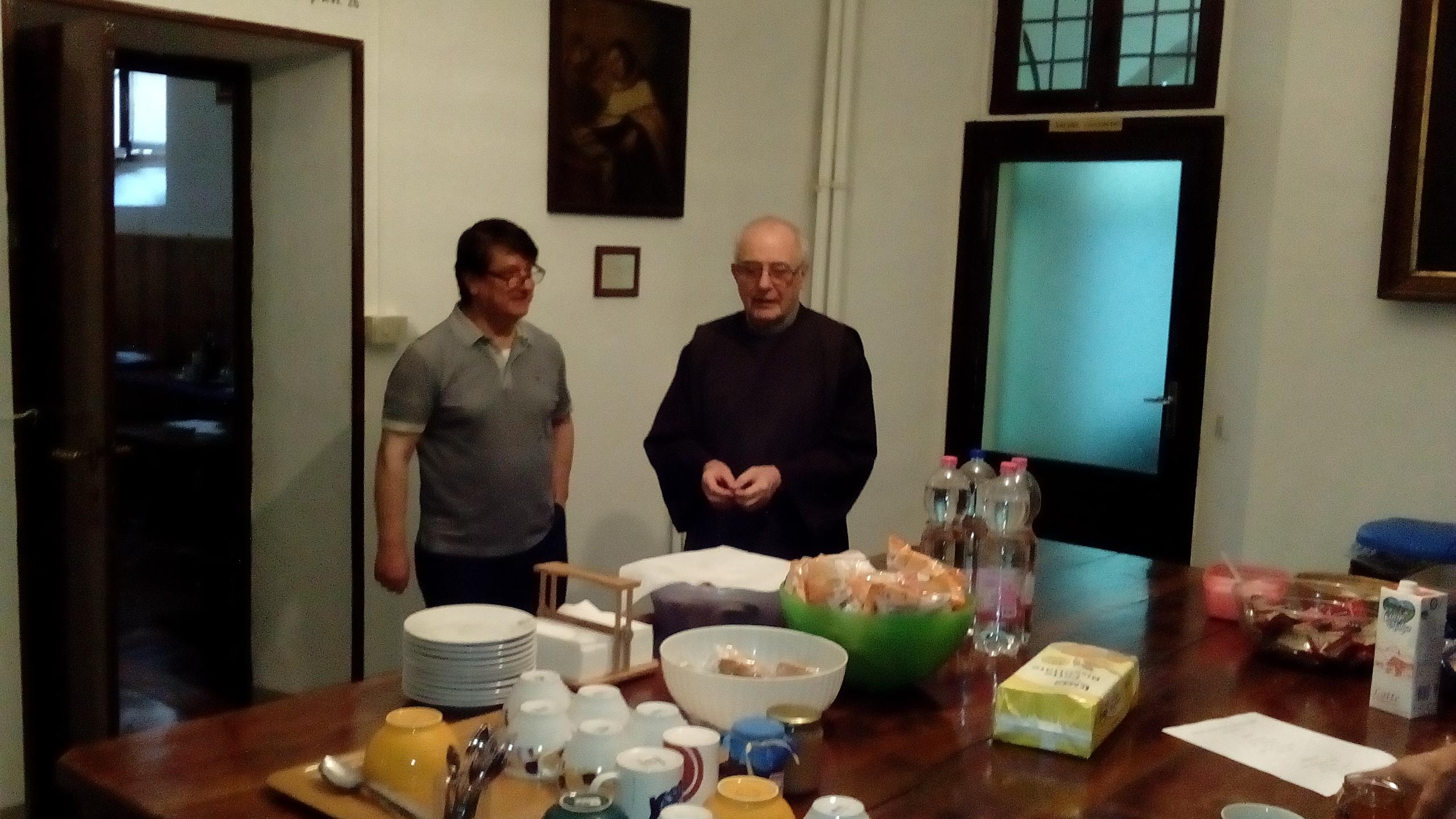 colazione in monastero